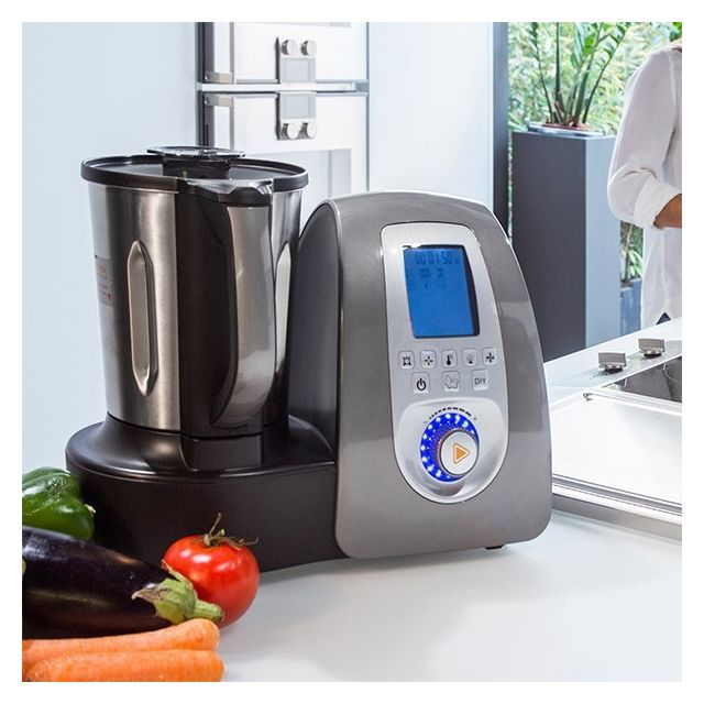 Totalcadeau Robot de Cuisine 11 fonctions - Préparation de plat facile