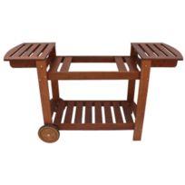 SIMOGAS - chariot bois pour planchas - cbu75