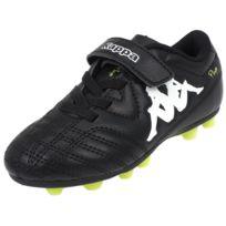 Kappa - Chaussures football moulées Player fg scratch noir Noir 33337