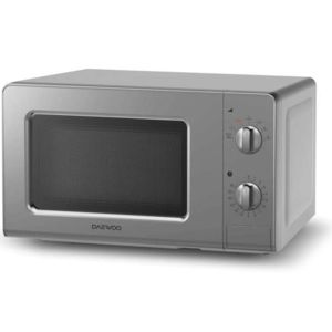 daewoo micro ondes 20l 700w silver kor 6lm07s achat four micro onde. Black Bedroom Furniture Sets. Home Design Ideas