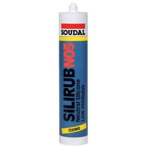 Soudal mastic silicone neutre silirub n05 cartouche coloris ch ne dor type pas cher - Joint silicone gris ...