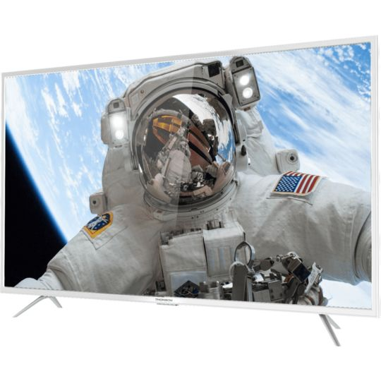 "TV LED UHD 4K - 49""  124 cm  - 49UD6206W - Blanc"