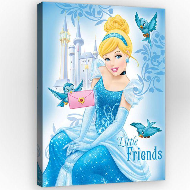 Bebe gavroche tableau cendrillon disney princesse 100 - Peinture princesse disney ...