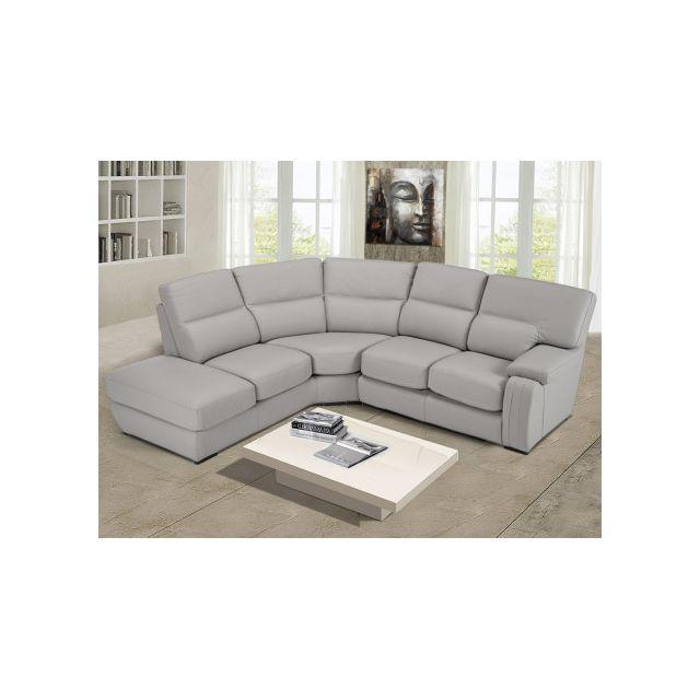 marque generique canap d 39 angle rodez 100 cuir de. Black Bedroom Furniture Sets. Home Design Ideas