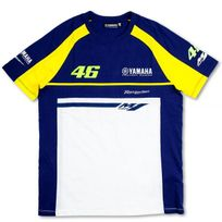 Vr 46 - T-shirt Blue Royal Yamaha Vr46