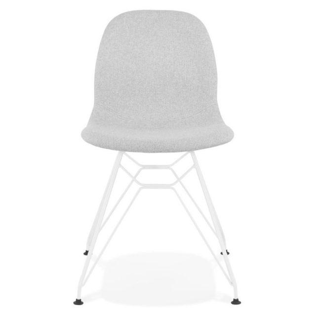 Chaise Design en Tissu