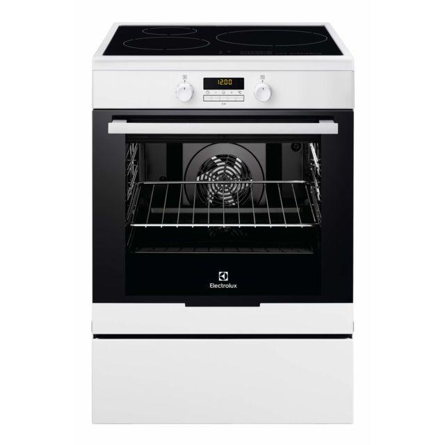 ELECTROLUX cuisinière électrique a 73l 3 foyers induction blanc - eki6771tow
