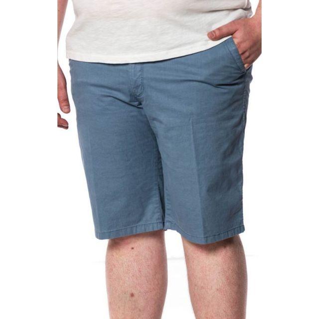 Pionier Bermuda confort bleu poches italiennes