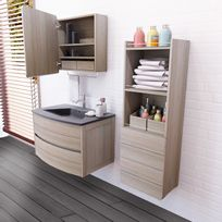 Armoire toilette miroir porte coulissante achat armoire toilette miroir por - Armoire de toilette porte coulissante ...