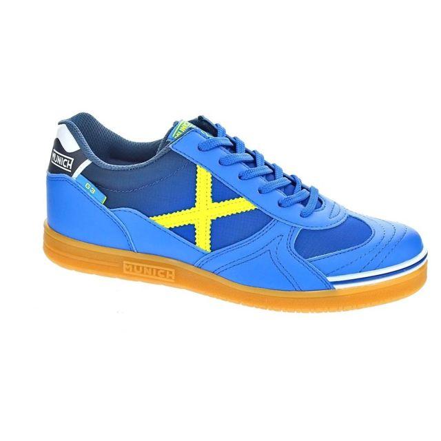 067789889c71d7 Munich Sport - Chaussures Homme Baskets basses modele G-3 Indoor - pas cher  Achat / Vente Baskets homme - RueDuCommerce