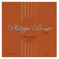 Bosset - Jeu de cordes guitare acoustique Philippe Phosphore Bronze 12-53