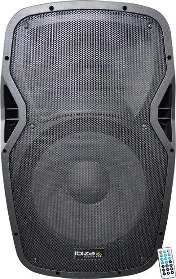 Ibiza Sound Ibiza Wifi12A - Enceinte active portable Abs avec usb/sd,FM,bluetooth & wifi 12pouces - 30cm 500W