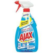 Ajaxx63 - Nettoyant vitres spray Ajax triple-actions - 750 ml