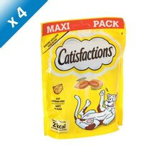 Catisfactions - Friandises au fromage - Pour chat - x4