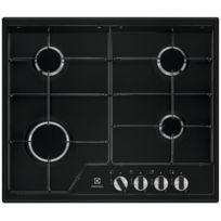 144ad513996ddf ELECTROLUX - table de cuisson gaz 59.5cm 4 feux 7800w noir - kgs6424k