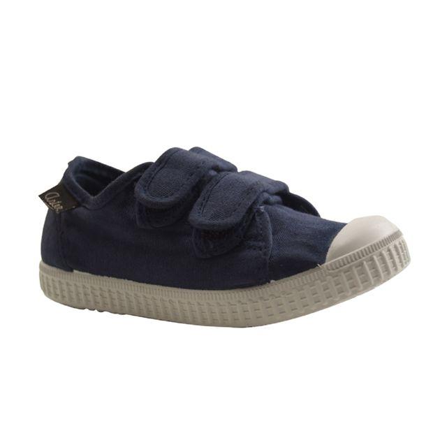 058892fd6a3da Aster - micky-tennis Velcro-bleu Marine - pas cher Achat / Vente Baskets  enfant - RueDuCommerce