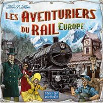 Days Of Wonder - Jeux de société - Les Aventuriers Du Rail - Europe