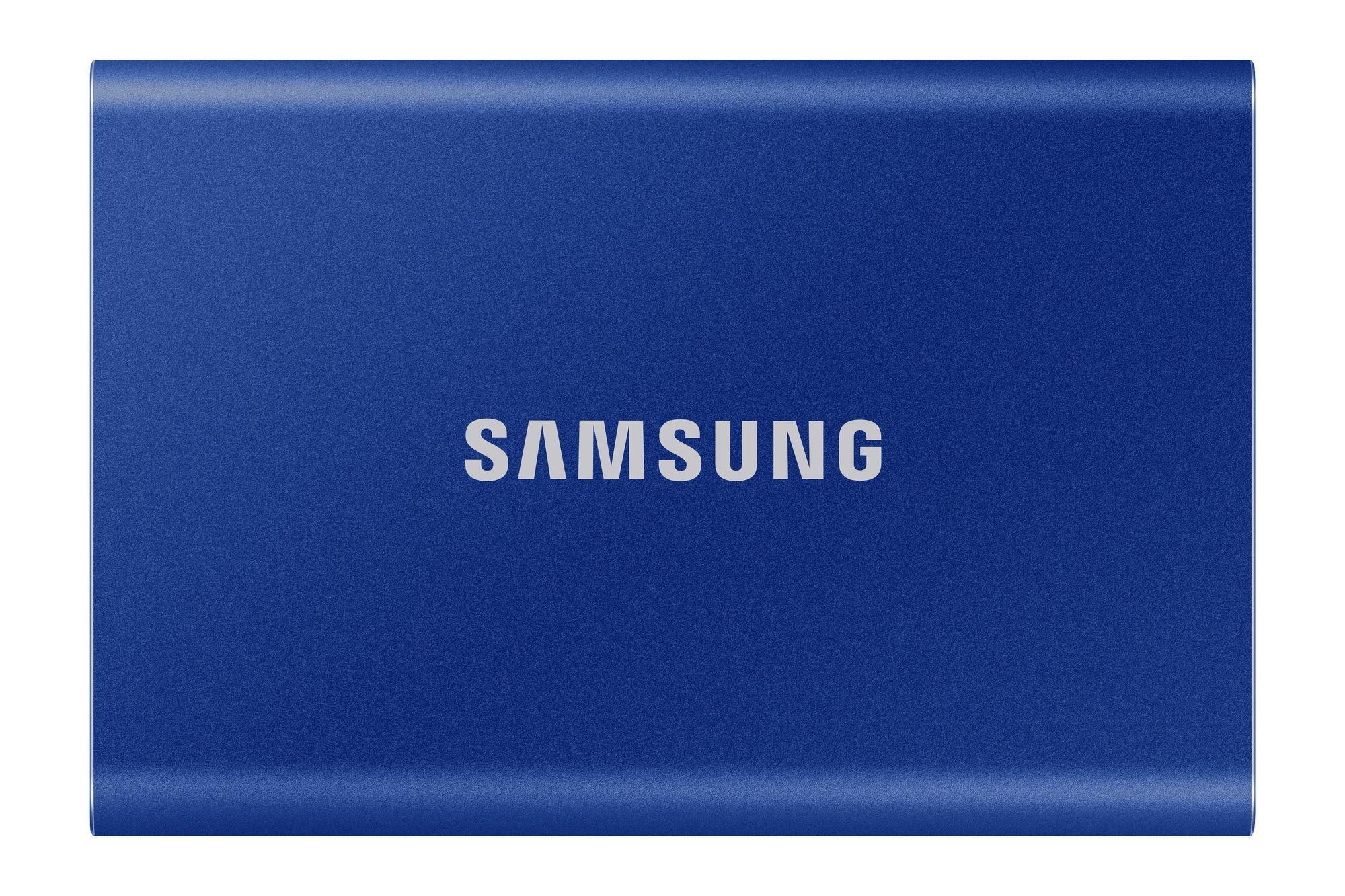 T7 Bleu indigo - 1 To - USB 3.2 Gen 2