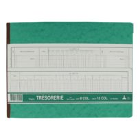 Le Dauphin - Registre piqûre comptable tête paresseuse trésorerie - 24 x 32 cm