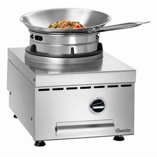 Bartscher Cuisiniere wok a gaz de table Gwth1
