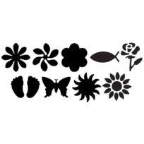 Heyda - Perforateur À Motif Fleur I, Petit, Couleur: Rouge 203687420