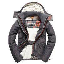 - Hood Fur Sherpa Wind Attacker Blouson Superdry