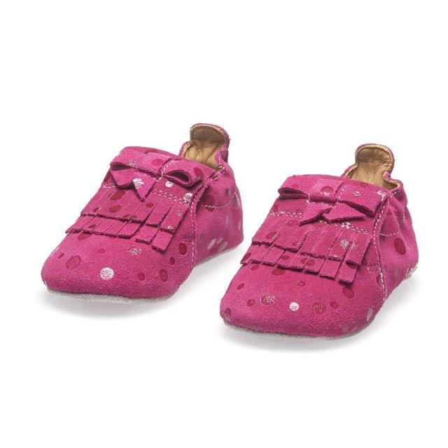 Catimini - Chausson bébé fille Gelinotte rose - pas cher Achat   Vente  Chaussures, chaussons - RueDuCommerce 769f367deb72
