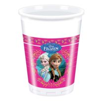 Procos - Gobelets en plastique La Reine des Neiges Frozen, x8