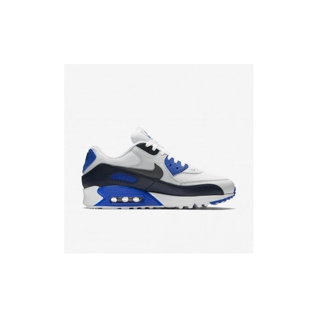 Air Max 90 Essential 537384 421 Age Adulte, Couleur Blanc, Genre Homme, Taille 39
