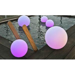 new garden boule lumineuse solaire d 39 ext rieur buly 40 pas cher achat vente pots cache. Black Bedroom Furniture Sets. Home Design Ideas