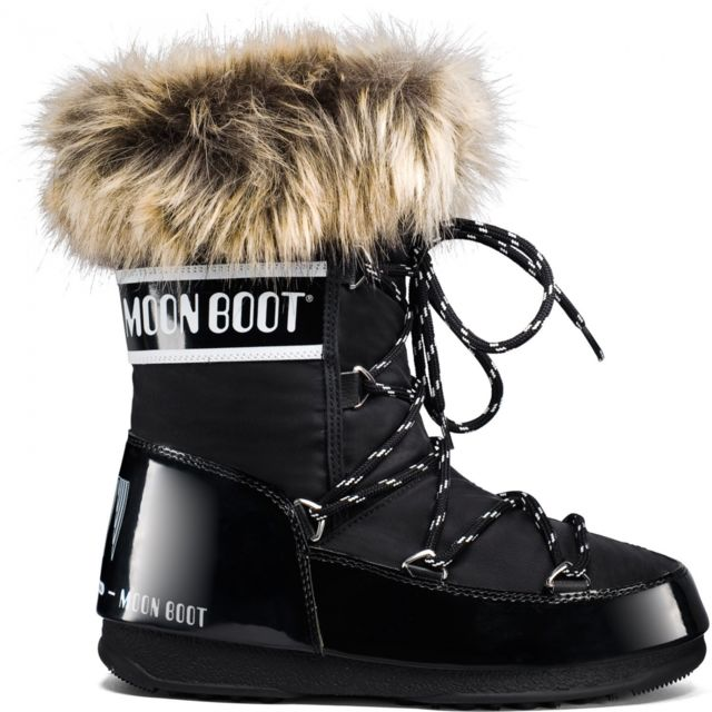 Bottes Moon Boot Monaco Low Wp Black