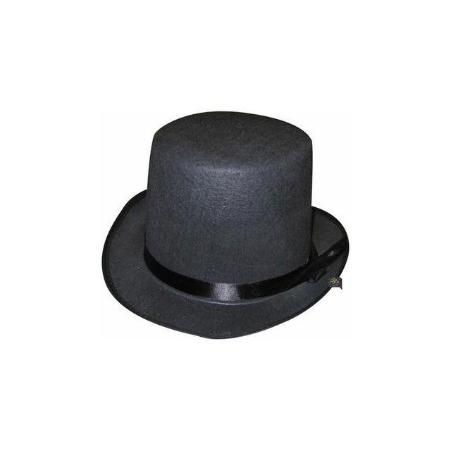 Aptafetes - Chapeau haut de forme noir enfant et adulte, Enfant ... 89a25bdab1c