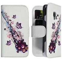 Karylax - Housse Coque Etui Portefeuille pour Samsung Galaxy Ace 2 Motif Hf01