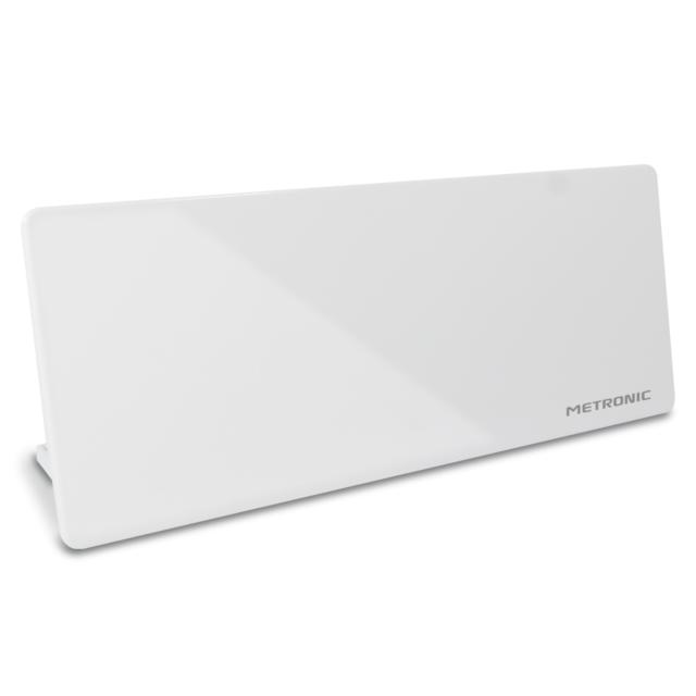 Metronic - Antenne Tv Hd Murale - Blanc