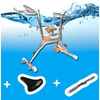 Waterflex - Aquabike Wr3 +selle confort + barre Multitraining