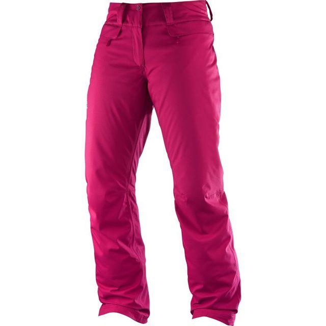 Salomon - Pantalon De Ski Enduro Femme - pas cher Achat   Vente ... ee01e2f359c