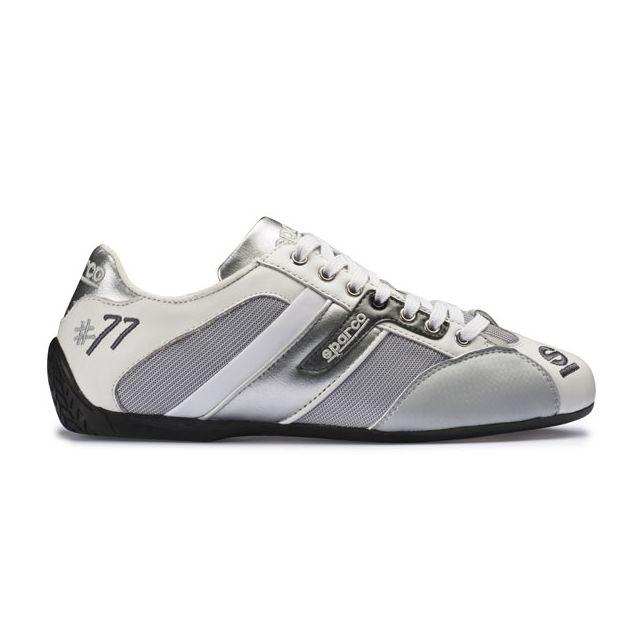 8b6e5318e1 Sparco - Chaussures Time 77 en cuir et tissu pour homme - pas cher ...