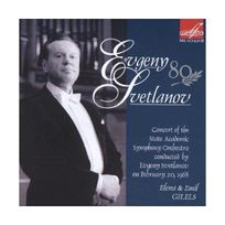 Melodiya - Evgeny Svetlanov / Tchaikovski concertos pour piano n1 & 3