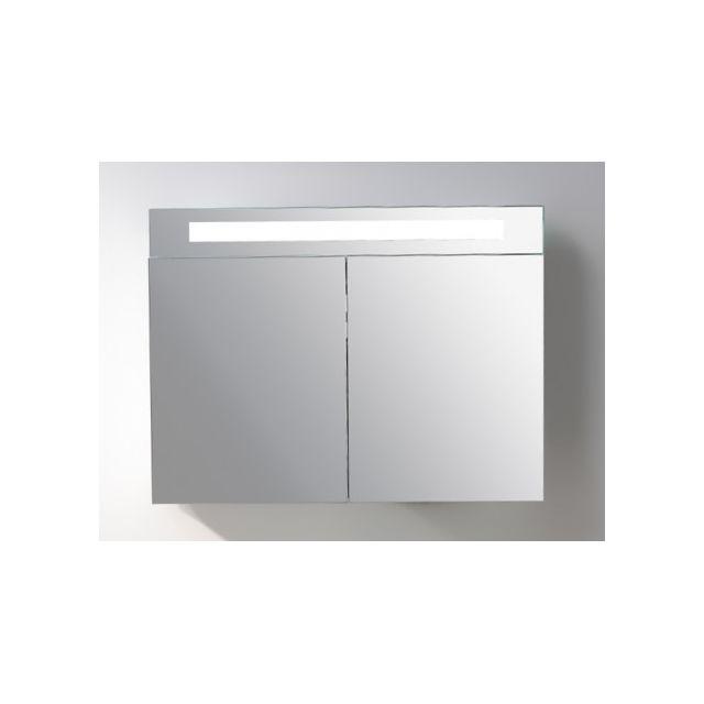Marque Generique Armoire De Toilette à Miroir Lumineux