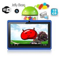 Yonis - Tablette tactile Android 4.1 Jelly Bean 7 pouces capacitif 18 Go Bleu