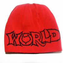 World Industries - Bonnet réversible Water world black red