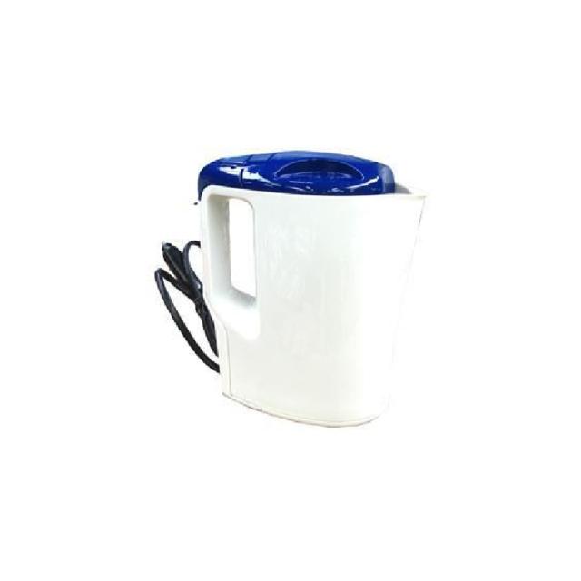 Bouilloire Électrique 24V 1 Litre 250W Blanc et Bleu