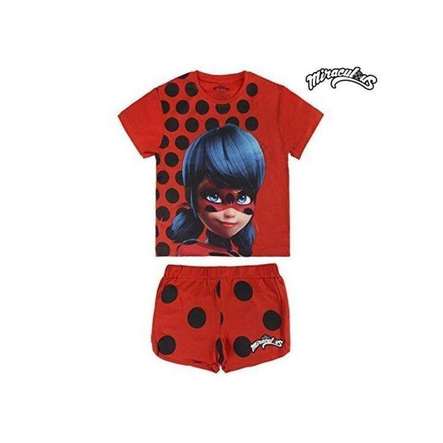 4295a39623feb Ladybug - Pyjama D Été Lady Bug 1439 taille 8 ans Multicolore - N A - pas  cher Achat   Vente Pyjamas - RueDuCommerce