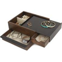 Umbra - Boite à bijoux tiroir secret Stowit