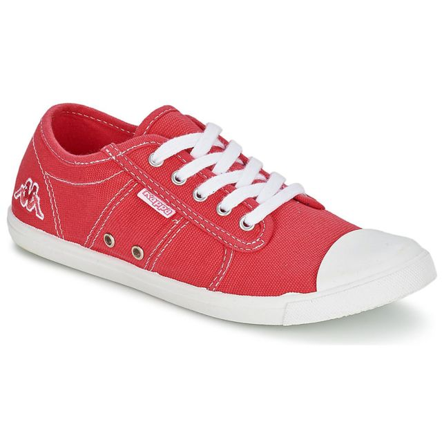 57afe095607f Kappa - Keysy 1 Chaussure Fille - Taille 33 1 3 - Rouge - pas cher Achat    Vente Baskets enfant - RueDuCommerce