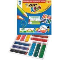 Bic Kids - crayon de couleur evolution assortie - boite class pack de 144