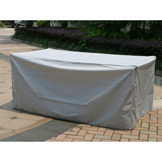 Hespéride - Housse de protection pour table rectangulaire 185x105x80 ...