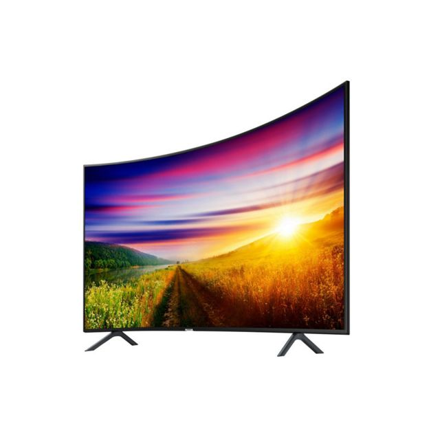 samsung tv led 4k uhd incurv 49 123 cm ue49nu7305kxxc noir pas cher achat vente tv led. Black Bedroom Furniture Sets. Home Design Ideas