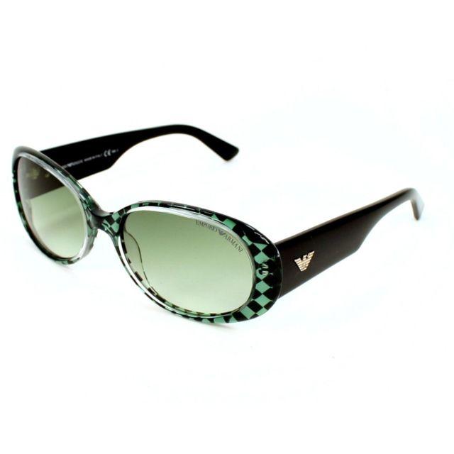 ef8905021ec3cc Armani Ea7 - Emporio Armani - Ea-9608-S I08ZW Noir - vert - Lunettes ...