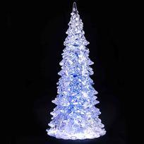Provence Outillage - Sapin de noel lumineux à led h22.5 cm